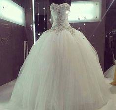 princess ballgown wedding gown