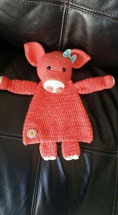 Crochet Lovey, Crochet Baby Toys, Easy Crochet Blanket, Crochet Bebe, Easter Crochet, Crochet Gifts, Crochet For Kids, Crochet Animals, Crochet Dolls