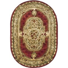 Safavieh Handmade Classic Burgundy/ Beige Wool Rug (445 CAD) ❤ liked on Polyvore featuring home, rugs, red, handmade wool rugs, beige area rugs, burgundy area rugs, safavieh area rugs and woven rug