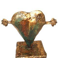 Ik houd zó veel van je Brons look beeld - Made by Ellen Buchwaldt