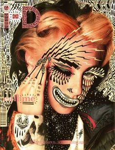 Kreayshawn for ID Magazine with illustration by Gary Baseman