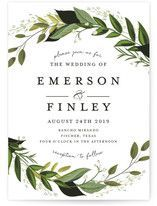 """""""Sketched Bouquet"""" - Floral & Botanical, Formal Foil-pressed Wedding Invitations in Petal by Phrosne Ras."""