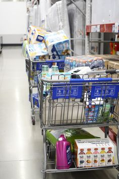 Pre-Baby Overhaul Shopping Trip. Stock up on all your necessities before your baby arrives.