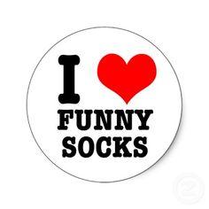 I love the funny socks