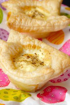 Eitjes in bladerdeeg - LoveMyFood  Leuk recept voor Pasen!