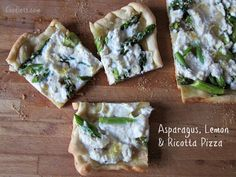 Kids don't like asparagus? Enlist them to help cook one of these family-friendly asparagus recipes, like Asparagus, Lemon and Ricotta Pizza. They can add play around with their favorite toppings. | Foodlets