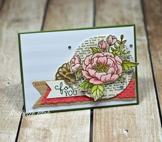 The Stamping Blok: Can You Case It? #108 - Birthday Blooms Sketch Challenge