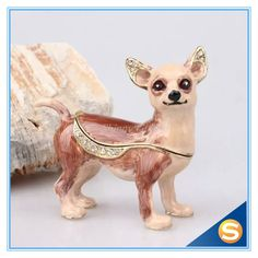 Find More Bottles,Jars & Boxes Information about Animal Trinket Box Pewter Dog Trinket Box Pug Chihuahua Gemstone Jewelry Box,High Quality jewelry box organizer,China jewelry display and packaging Suppliers, Cheap jewelry box decoration from Shinny Gifts CO., Ltd on Aliexpress.com