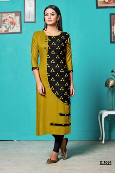 Silk Kurti Designs, Churidar Designs, Kurti Designs Party Wear, Kurta Designs Women, Dress Neck Designs, Blouse Designs, Stitching Dresses, Kurta Neck Design, Kurti Patterns