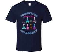 Property of Mermaid Academy T Shirt