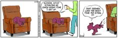 Stop stealing my chair – Dog Eat Doug for 2016/12/30