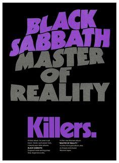 Black Sabbath Promotional Ad https://www.facebook.com/FromTheWaybackMachine