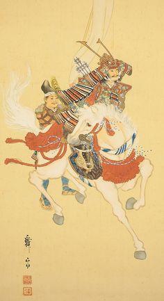 Samurai on Horse