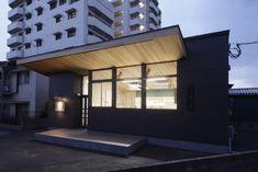 #歯科技工所#オフィスデザイン#木の軒#杉#木の天井#ローコスト