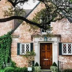 Фотографии   Старинный кирпич Красивые Дома, Английский Дом, Детали Архитектуры, Дома, Патио