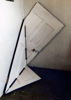 themovedmind: folded door, Dennis Shields