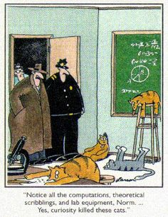 Gary Larson - Click image to find more Humor Pinterest pins