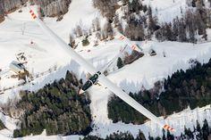 Winter gliding fun!