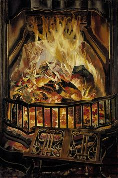 Fire Alight, 1936 Sir Stanley Spencer http://www.nationalgalleries.org/collection/artists-a-z/S/10586/artistName/Sir%20Stanley%20Spencer/recordId/5846