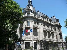 Palacio Ortiz Basualdo, sede de la Embajada de Francia en Buenos Aires, Argentina.
