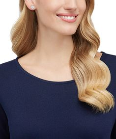 Swarovski Angelic Pierced Earring Studs White