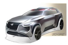 1월 이후 재도전#nissan#xmotion#concept#rendering#sketch#photoshop#practice#cardeisgn#carsketch#autodesign#transportationdrsign Car Design Sketch, Car Sketch, Exterior Rendering, Exterior Design, New Nissan, Nissan Leaf, Cool Sketches, Car Painting, Transportation Design