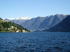 Lake Como. I had one of the most peaceful moments on a warm April day. I was sitting by the lake staring at the snow capped mountains and completely in the moment.