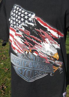 Vintage Harley Davidson Shirt Black  Born to by LuluandGandore, $45.00