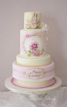 Easter Love Cake