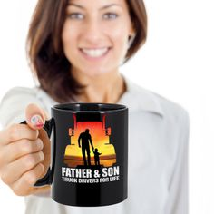 Father and son mug,gift for dad,superhero dad,65th birthday dad,morning coffee mug,fathers day gift,gift for boyfriend,gift for her, by Bulwar on Etsy Gifts For Dad, Fathers Day Gifts, 65th Birthday, Teachers' Day, Fishing Gifts, Boyfriend Birthday, Dad Superhero, Father And Son, Boyfriend Gifts