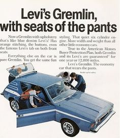Levi's Gremlin. Mine was like this but it had silver/blue paint