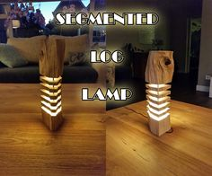 I got inspired through pictures on the WWW to make this log-lamp. When I outlined this idea to my wifey she got hyped up quite a bit so I had to put my money where my mouth is. Let's get crackin!Parts list:Nicely shaped log Metal rods (3mm to 5mm, messing, copper, iron) LED (mini spotlight) 12v adapter Electrical wireTools:Sanding paper grid 80, 180 Drill press (with forstner drill bit) or cordless drill (with speed drill bit) 30mm Smaller drill bits (3mm to 5mm) Soldering machine Hot glue…