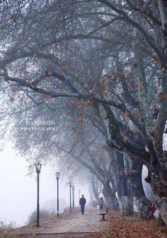 Kastoria by Dimitris Smixiotis on Storms, Greece, Rain, Autumn, Explore, Lighting, Places, Outdoor, Greece Country