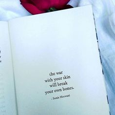 Make peace with your ownself🌷 . Poet Quotes, Quotes From Novels, Peace Quotes, Feminist Poems, Daily Quotes, Life Quotes, Make Peace, Mental Health Quotes, Broken Heart Quotes