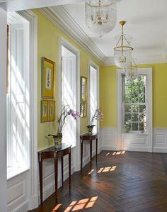 Yellow Entrance Way