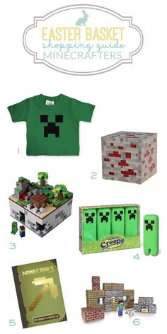 Minecraft Easter Basket IdeasThe Shopping Mama