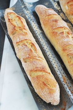 Magic Wands without Kneading, Fast Recipe - Cooking Culinary Quick Recipes, Bread Recipes, Baking Recipes, Cooking Bread, Bread Baking, Vegetarian Recipes Dinner, Football Food, Ciabatta, Appetizer Recipes