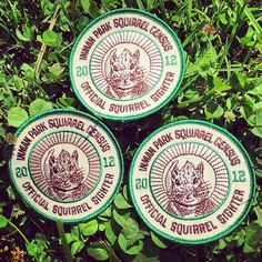 Official Squirrel Sighter patches are here. Are you qualified?
