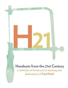 Handouts from the 21st Century ||  a collection of handouts and teaching aids || $56 available at http://www.snagspace.org/snagswag/