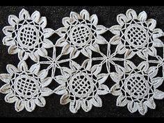Crochet : Girasol Uniones