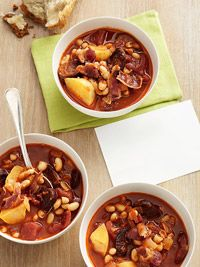 portugese bean soup - aida mollenkamp. Dinner Made Easy: Weeknight Recipes from TV Chefs