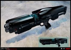 SYNDICATE concept - early weapon prototype concept by torvenius on DeviantArt
