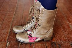 Customised boots - I know my best friend would looooove these