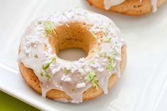Key Lime Doughnuts