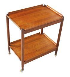 Tea Trolley, Vintage Designs, Bar Cart, Table, Furniture, Home Decor, Rolling Bar Cart, Teak, Tray