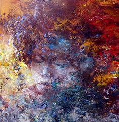 Portrait 54 - Acrylic On Canvas
