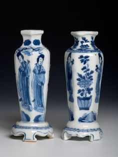 Ming, Kangxi, Yongzheng, Qianlong and later porcelain in under glaze cobalt blue (blue and white)