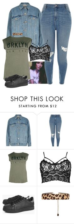"""Every Day Plus Size Halsey"" by marymh ❤ liked on Polyvore featuring Ultimate, River Island, Boohoo and Accessorize"