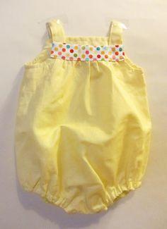 La sciarpa che canta: Come cucire un pagliaccetto per neonato - Tutorial con cartamodello