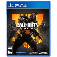 Call of Duty: Black Ops 4 PlayStation 4 Shooter Video Game Playstation Games, Xbox One Games, Ps4 Games, Games Consoles, Call Duty Black Ops, Black Ops 3, Call Of Duty Ps4, Ever After High Games, Battle Royale